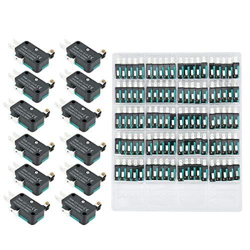 100 Uds BEM micro interruptores de límite de 250 VAC 15A interruptores de límite de reinicio automático para electrodomésticos equipos electrónicos