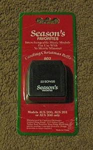 discount ye merrie minstrel caroling christmas bells interchangable music module seasons favorites