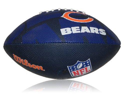 Wilson F1534XB NFL Chicago Bears Logo Mini Ball American Football Composite