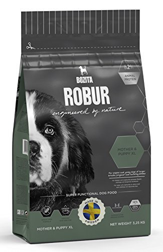 Bozita Hundefutter Robur Mother & Puppy XL 28/14, 1er Pack (1 x 3.25 kg)