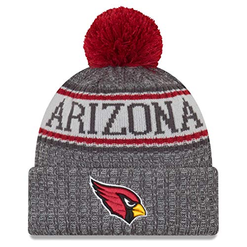 New Era NFL Sideline Graphite Mütze - Arizona Cardinals