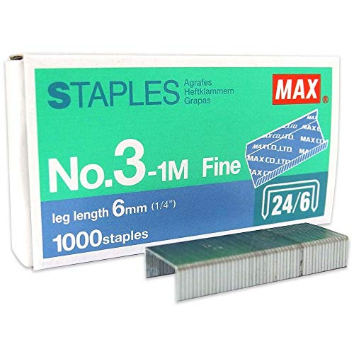 Max Stapler HD-50 with 2 Boxes Max Staples No.3-1M (up to 30 Sheets of Paper) Photo #6