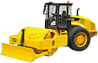Bruder Cat Vibratory Soil Compactor with Levelling Blade