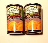 Mrs. Eden's Kitchen Sliced Peaches in Juice (2 Can 14.5 oz each)