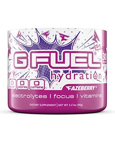 G Fuel Hydration FaZeberry Tub (30 Servings) Elite Hydration Formula