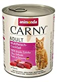 animonda Carny Adult Katzenfutter, Nassfutter für ausgewachsene Katzen, Multifleischcocktail, 6 x 800 g