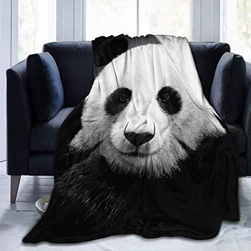 LOVE GIRL Manta Manta de Oso Panda Manta Manta de Terciopelo Ultra Suave Manta de Cama Premium Ligera y cálida para sofá...
