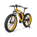 GUNAI Bicicletas Electricas Neumaticos Bicicleta 26 Pulgada 500w 48V 17AH Bateria Litio Frenos de Disco Bicicleta