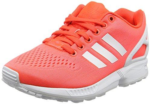 adidas Herren ZX Flux EM Sneakers, Rot (Solar Red/FTWR White/Solar Red), 44 EU