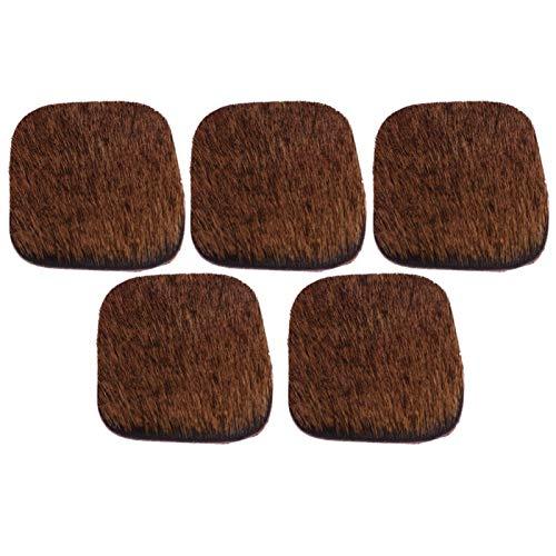 Cosiki Bow Silent Plate, Accesorios de Caza, Arco de Caza, Arco de Caza para Arco de Tiro con Arco silencioso al Aire Libre(Brown)