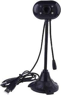 BIlinli Cámara de Video USB de Alta definición Computadora de Escritorio Computadora portátil Cámara Digital con micrófono