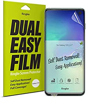 Ringke S10-RE-SP1-DE Screen Protector For Samsung Galaxy S10 - Clear (Pack of 2)
