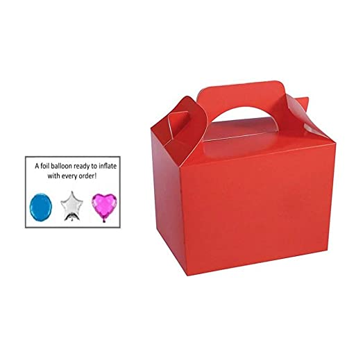 Red Party Boxes Amazon Co Uk