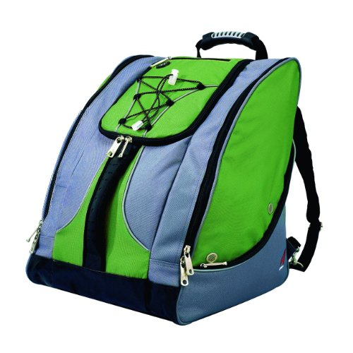 Athalon Everything Boot Bag (Green/Gray)