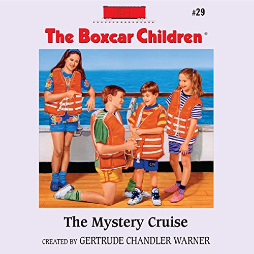 The Mystery Cruise audiobook cover art