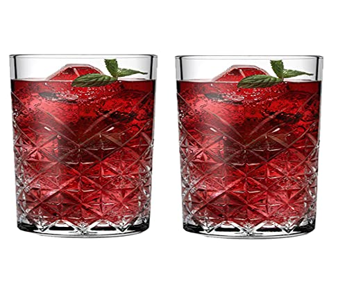 Juego de 2 vasos de whisky irrompibles CYKK para whisky, whisky, whisky, whisky, whisky, whisky, whisky, whisky, whisky, whisky (2 unidades)