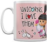 Pyramid International' Despicable Me 3 (Unicorns I Love Them) - Taza de café y té...