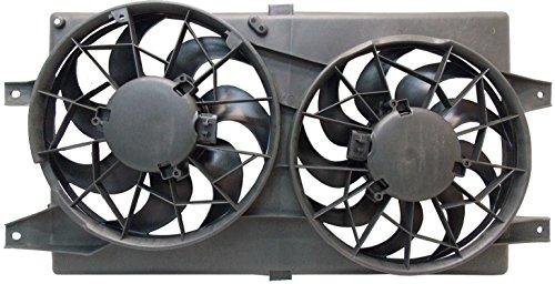 Sunbelt Radiator And Condenser Fan For Chrysler Sebring Dodge Stratus CH3115122 Drop in Fitment