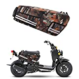 Compatible with Honda Ruckus Bag Under Seat Storage Bags Luggage Scooter Zoomer Accessories Brown