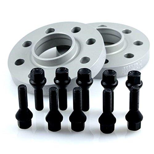 Preisvergleich Produktbild TuningHeads / Eibach .0425402.DK.SB-S90-2-10-004 Spurverbreiterung,  20 mm / Achse + schwarze Radschrauben,  20 mm / Achse