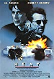 MBPOSTERS Heat 1995 Retro Movie Poster, Plakat in Sizes