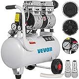 Moracle Compresor de Aire sin Aceite Silencioso de 5.5 Galones / 25 Litros