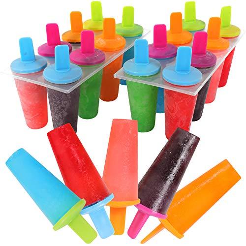 Mr Kitchen#039s Neon Popsicle Mold Popsicle Maker Set of 2 Popsicle Molds16 Popsicles
