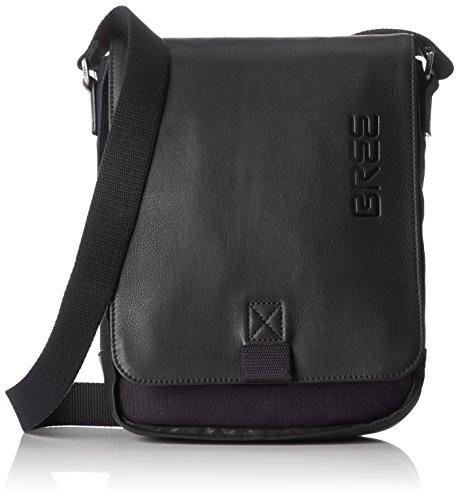 BREE Unisex-Erwachsene PNCH Casual 52 Shoulder Bag Schultertasche, Grau (Anthra.), 6.5x26x21 cm