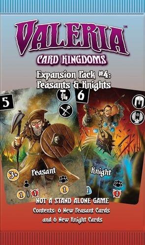 Asmodee DMGVCK012 Erweiterungspaket #4: Bauern & Ritter Valeria: Card Kingdoms, Mehrfarbig