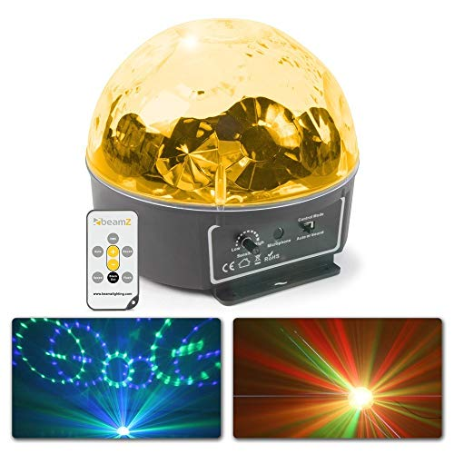 BeamZ Mini Star Ball met 6 RGBWAP LED's en Afstandsbediening