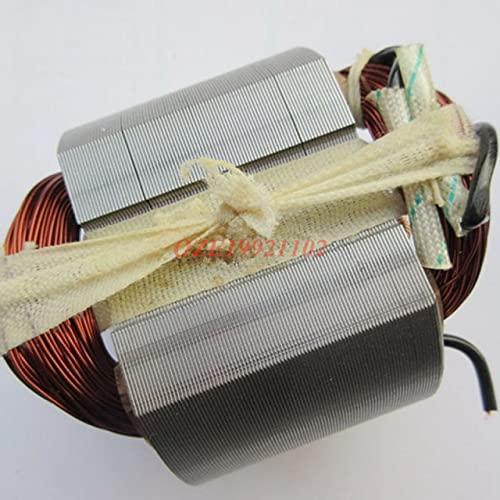 1 Herramienta eléctrica de CA 220 V, Rotor de Motor eléctrico de 8 Dientes (tamaño del núcleo del Rotor 41x45mm) / estator para Martillo eléctrico Hitachi 38E (Color : Stator)