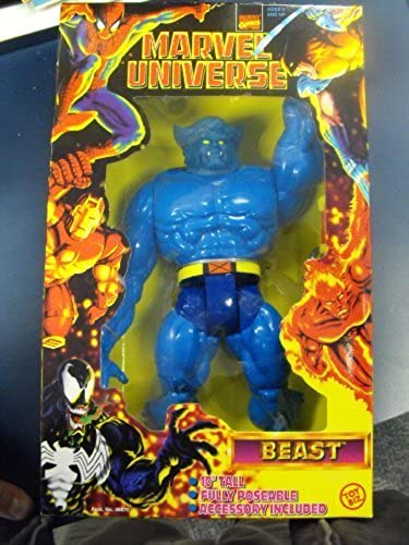 10 Marvel Universe Beast Figure -- Fully Poseable 1998 by Toy Biz