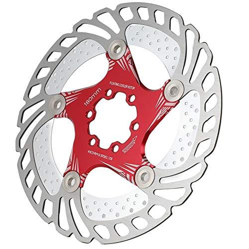 Vélo Disque De Frein Rotors180mm 6 Boulons De Vélo Rotors Fit pour Vélo De Route Vélo De...