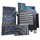 Servante d'atelier 6tiroirs sur 7 remplis d'outils