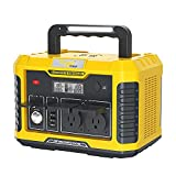 Togo Power Portable Power Station A650, 634Wh Rechargeable Mobile Lithium Battery Pack with Dual AC 120V/500W Outlets, Solar Generator CPAP Power Supply for Road Trip Camping Outdoor Adventure