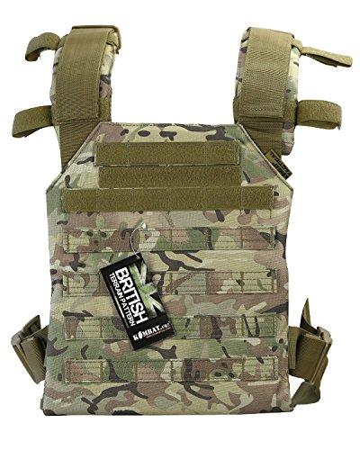 Zip Zap Zooom Combat Militaire Armée Britannique Molle Spartan Porte Plat Assault Surplus Gilet BTP