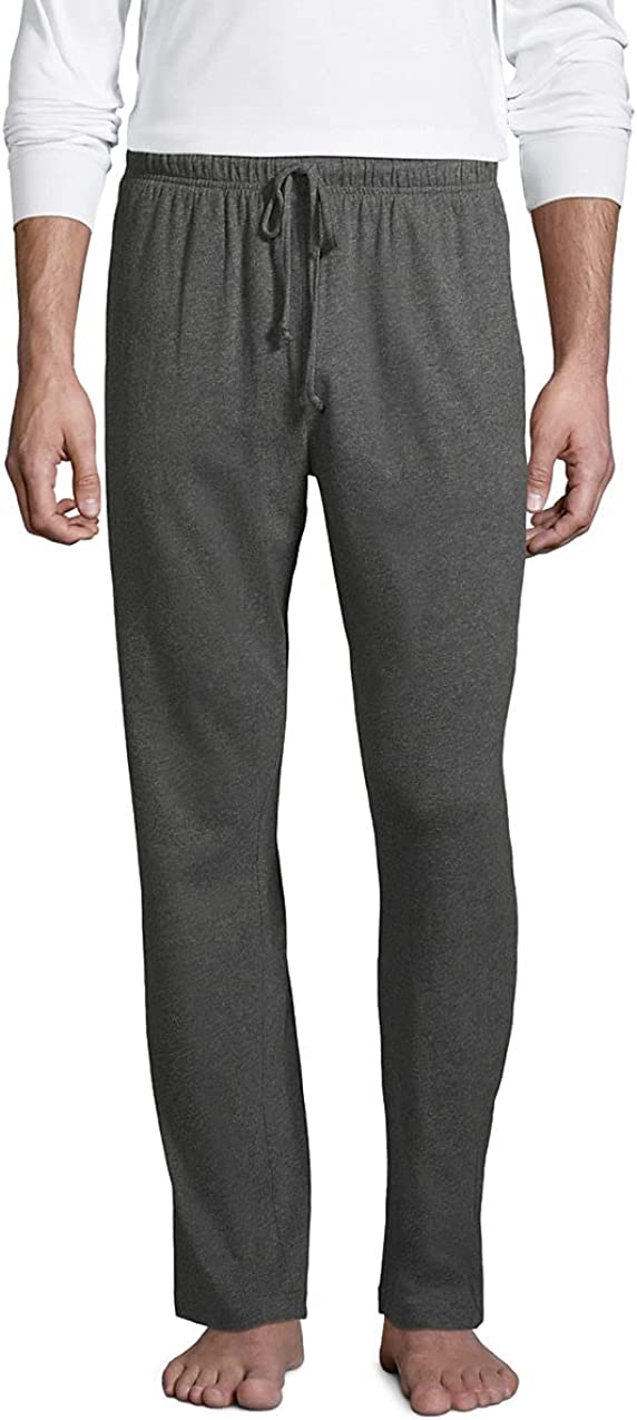Lands' End Men's Knit Jersey Sleep Pants