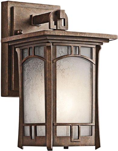 Kichler 49449AGZ Soria Outdoor Wall 1-Light, Aged Bronze
