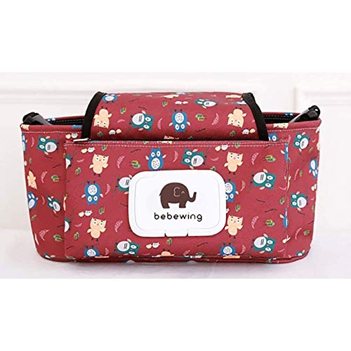 YYDZ Baby Strollers Storage Bag For Most Baby Career Rails And Handles Xx (Color : 5)