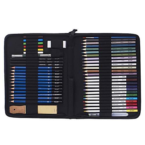 Crayons d'Artiste Dessin coloré, Buntstifte setzen professionelle Ideen für Coloriage Adulte, Mandala, Fourniture und Rentrée Scolaire