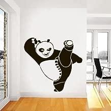 CreativeWallDecals Wall Decal Vinyl Sticker Nursery Gift Kung Fu Panda Heroes Animals a146