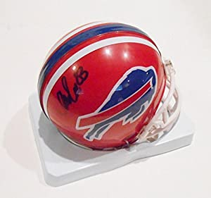 Andre Reed Signed Mini Helmet w/COA Buffalo Bills Football - Autographed NFL Mini Helmets