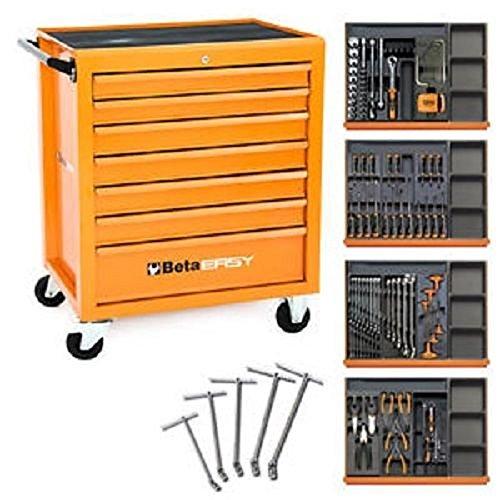 Beta C04 Werkzeugwagen mit 148 Werkzeugen für die Autoreparatur