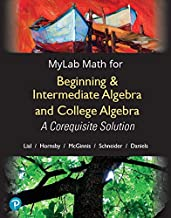 MyLab Math with Pearson eText -- Standalone Access Card -- for Beginning & Intermediate Algebra and College Algebra: A Corequisite Solution, 18-Week Access (My Math Lab)