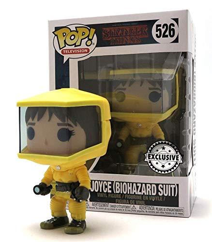 Funko Pop Stranger Things Joyce 526 Biohazard Suit Serie TV Figure 9 cm Unici 1