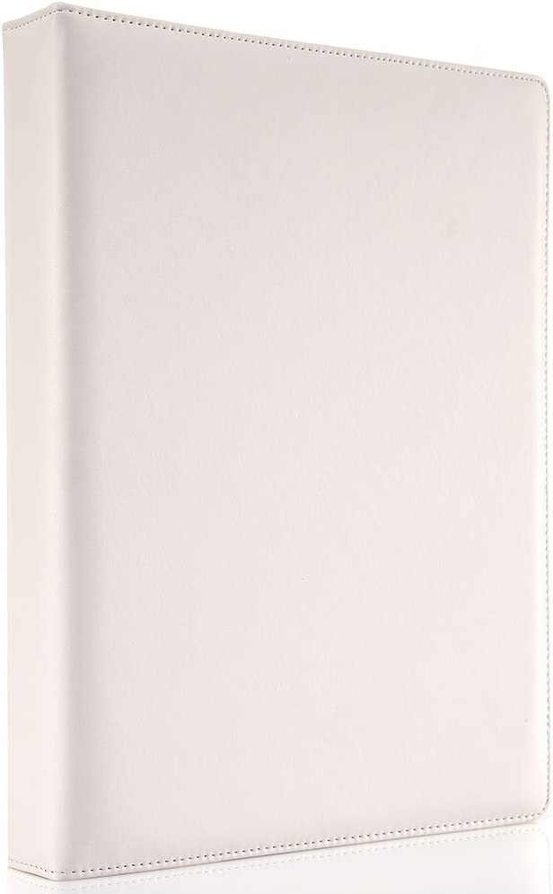 KINGFOM Clearance New Shipping Free Shipping SALE Limited time A4 Faux Leather Padfolio File Business Ring Folde Binder