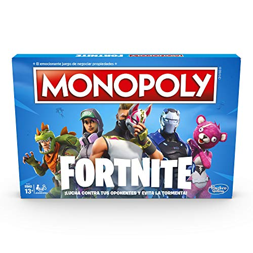 Hasbro Gaming Monopoly Edición Fortnite Game