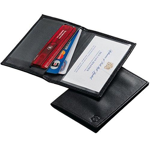 Victorinox 4.0873.L, Tarjetero para Tarjeta de crédito, Negro