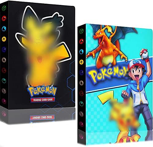 Álbum Cromos Album Pokemon Cards para Cartas Carpeta Titular Tarjetas Álbum Coleccionables...