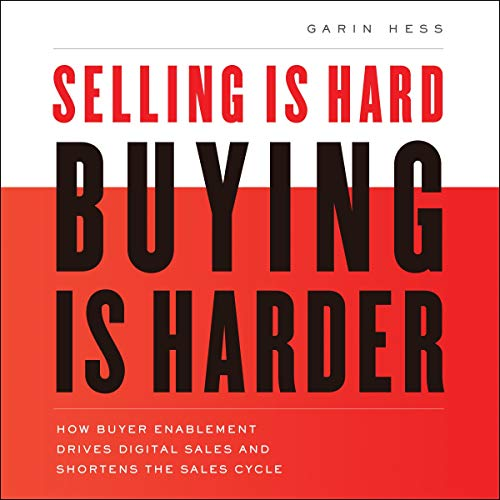 Couverture de Selling Is Hard. Buying Is Harder.